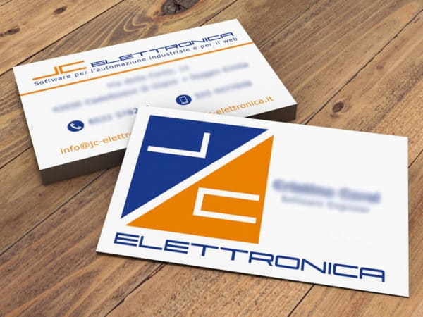 <span>JC Elettronica business card</span><i>→</i>