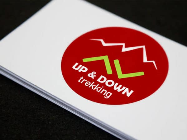 <span>Up & Down Trekking Logo</span><i>→</i>