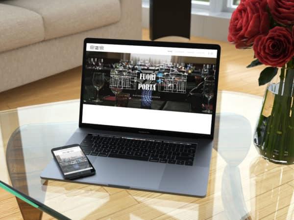 <span>Ristorante Fuori Porta website</span><i>→</i>